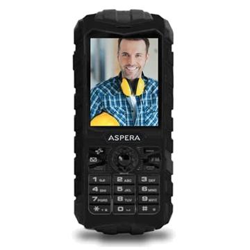 Picture of Aspera R25t (3G, Rugged Phone, IP68) - Black