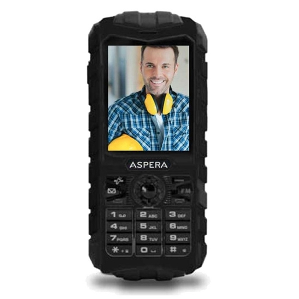 Picture of Aspera R25t (3G, Rugged Phone, IP68) - Black