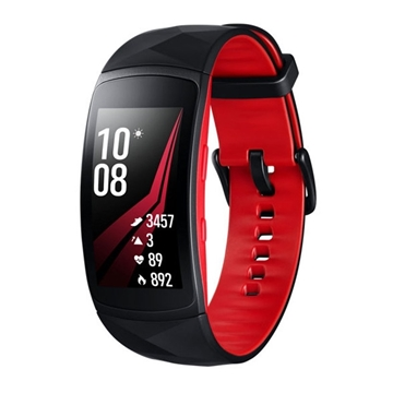 Picture of Samsung Gear Fit 2 Pro (Large) - Red/Black