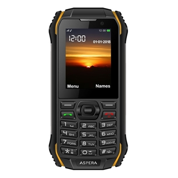 Picture of Aspera R32 (3G, Rugged Phone, IP68) - Black