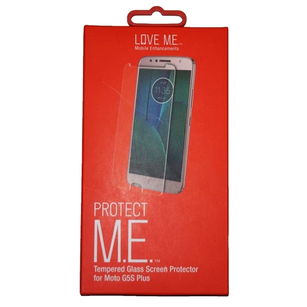 Picture of M.E. Tempered Glass Screen Protector For Moto G5S Plus