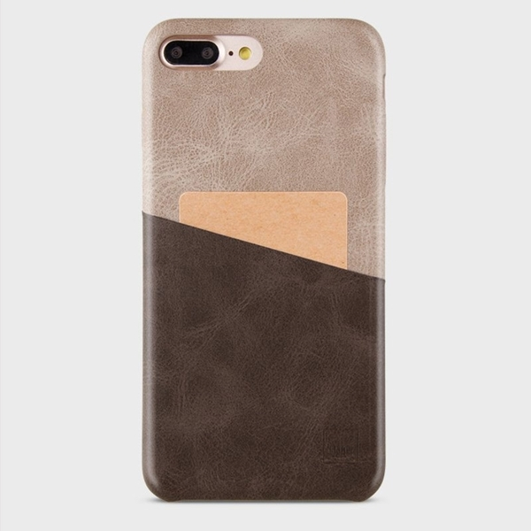 UNIQ OUTFITTER ID Case VINTAGE For iPhone 7 Plus/8 Plus - Caramel