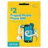 OPTUS Prepaid Mobile Phone SIM