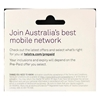 Telstra $2 Prepaid SIM kit