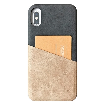 Picture of UNIQ OUTFITTER ID Case VINTAGE For iPhone X/XS - Ash