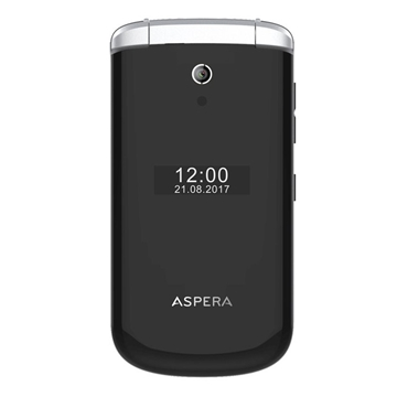 Picture of Aspera F28 Flip (3G, Keypad) - Black