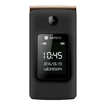 Picture of Aspera F24 (3G, Flip Phone) - Gold