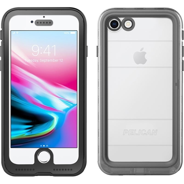 Picture of Pelican iPhone 8 / 7 Marine Case - Clear/Black