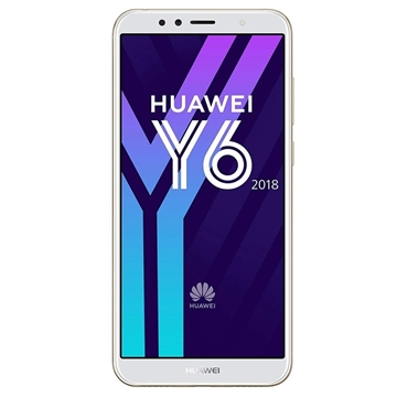 Picture of Huawei Y6 2018 (Dual Sim 4G/3G, 16GB/2GB) - Gold