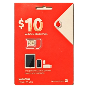 Picture of Vodafone Starter Pack - $10 Prepaid