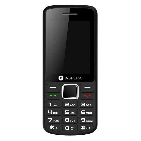 Picture of Aspera F26 (3G, Keypad) - Black