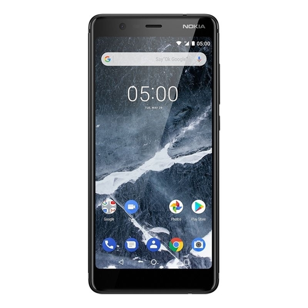 Picture of Nokia 5.1 Android One (4G/LTE, 16GB/2GB) - Black
