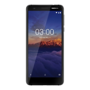 Picture of Nokia 3.1 Android One (4G/LTE, 16GB/2GB) - Black/Chrome