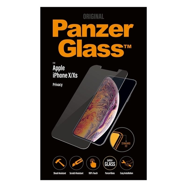 PanzerGlass iPhone X / Xs Privacy Glass Screen Protector