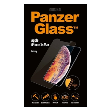 Picture of PanzerGlass iPhone Xs Max Privacy Glass Screen Protector
