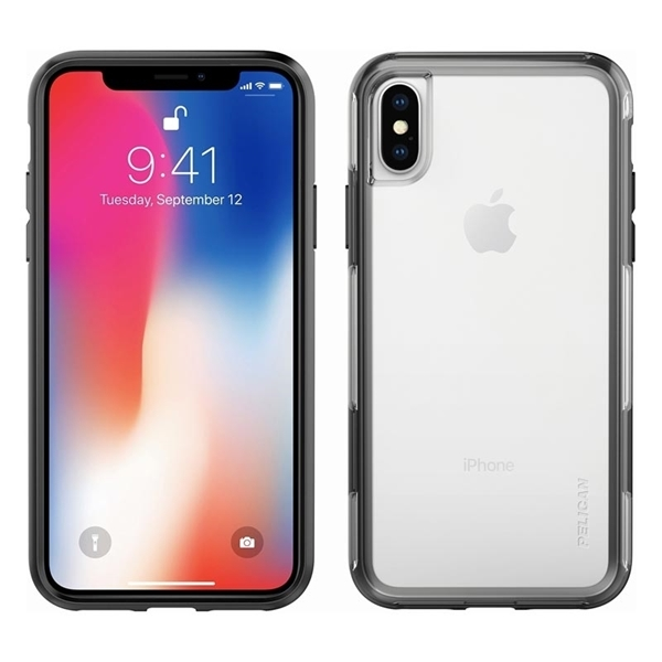 Picture of Pelican Adventurer iPhone X/XS case - Clear/Black