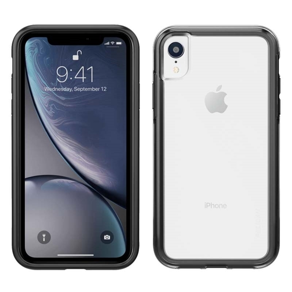 Picture of Pelican Adventurer iPhone XR case - Clear/Black