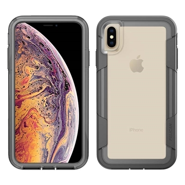 Picture of Pelican Voyager iPhone XS Max case - Clear/Grey