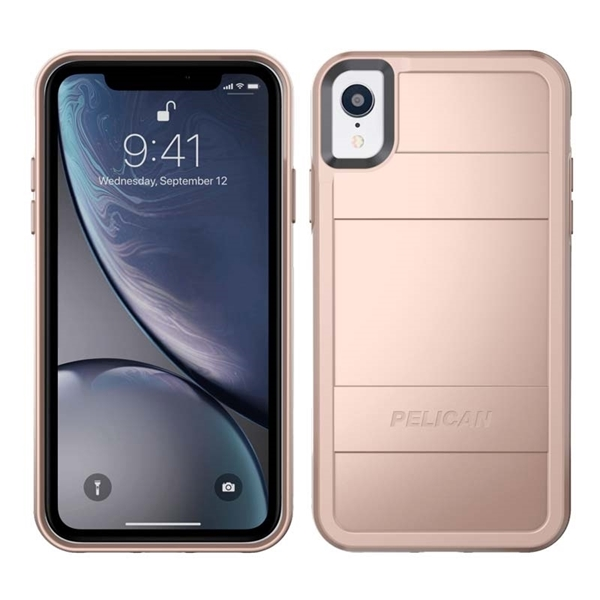 Picture of Pelican Protector iPhone XR case - Rose Gold