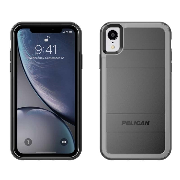 Picture of Pelican Protector + AMS iPhone XR case - Black/Grey