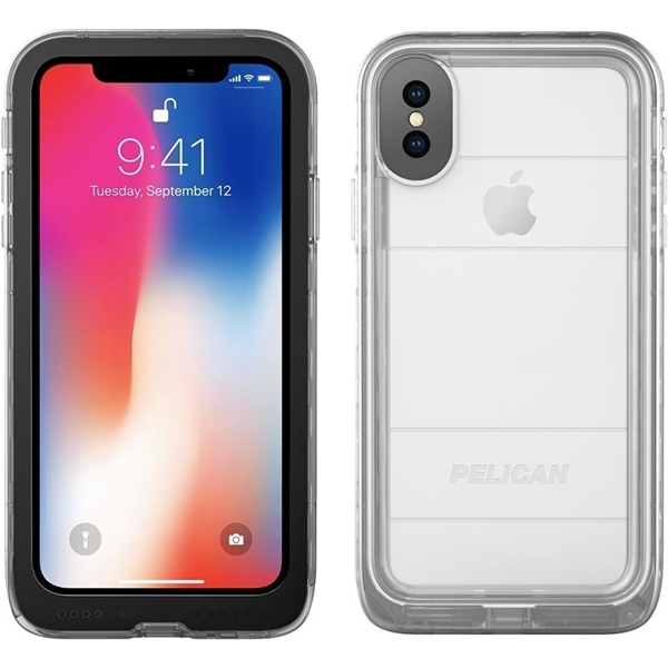Pelican iPhone X/XS Marine Case - Clear
