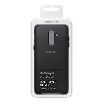 Picture of Samsung Galaxy J8 (2018) Dual Layer Cover - Black