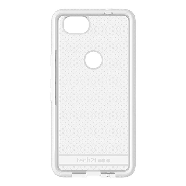 hot sales 84468 3dd56 Tech21 - Evo Check Case for Google Pixel 2 - Clear/White