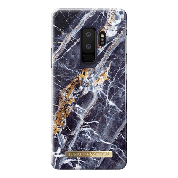 iDEAL OF SWEDEN for Samsung Galaxy S9+ Plus - MIDNIGHT BLUE MARBLE