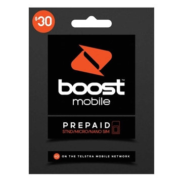 Picture of Boost $30 Prepaid Trio SIM Starter Kit