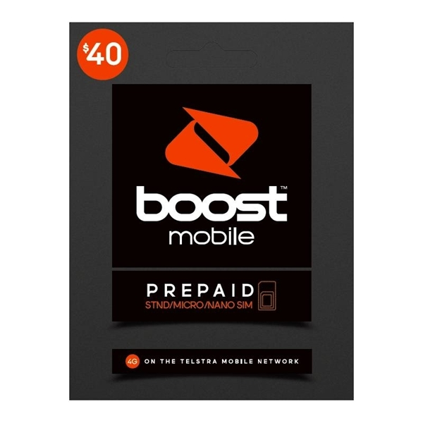 Picture of Boost $40 Prepaid Trio SIM Starter Kit