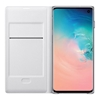 Samsung Galaxy S10 LED View Wallet Cover - White