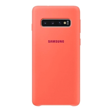 Picture of Samsung Galaxy S10 Silicone Cover - Berry Pink