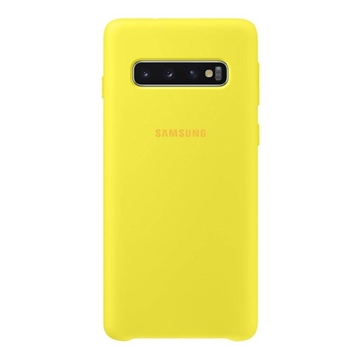Picture of Samsung Galaxy S10 Silicone Cover - Yellow