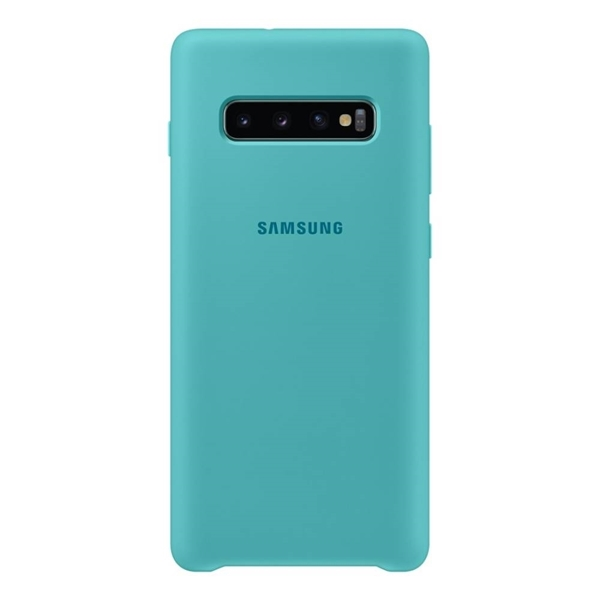 Picture of Samsung Silicone Cover for Galaxy S10+ Plus - Green