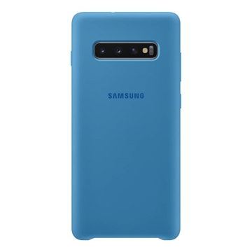 Picture of Samsung Silicone Cover for Galaxy S10+ Plus - Blue