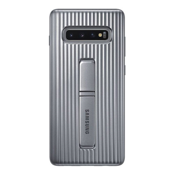 Picture of Samsung Protective Standing Cover for Galaxy S10+ Plus - Silver