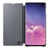 Samsung Clear View Cover for Galaxy S10+ Plus - Black