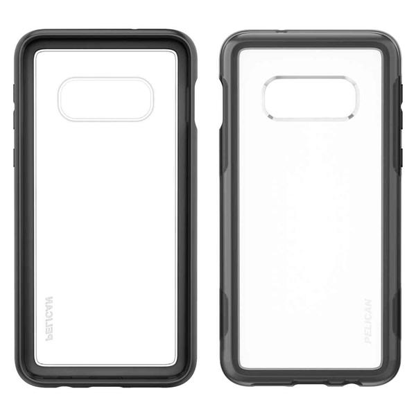 Pelican Adventurer Galaxy S10e case - Clear/Black