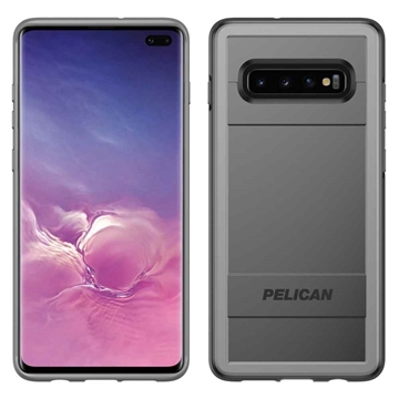 Picture of Pelican Protector + AMS Samsung Galaxy S10+Plus case - Black/Grey