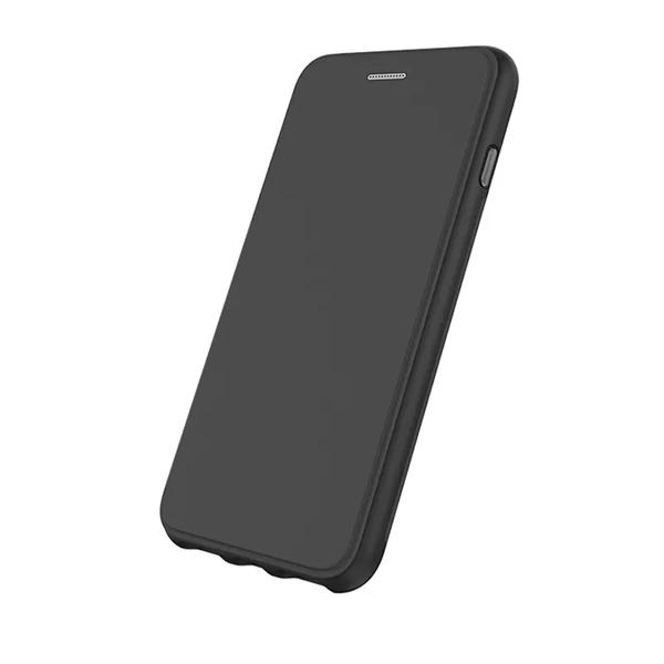 EFM Monaco Leather D3O Wallet Case For iPhone 8 Plus / 7 Plus / 6s Plus - Black