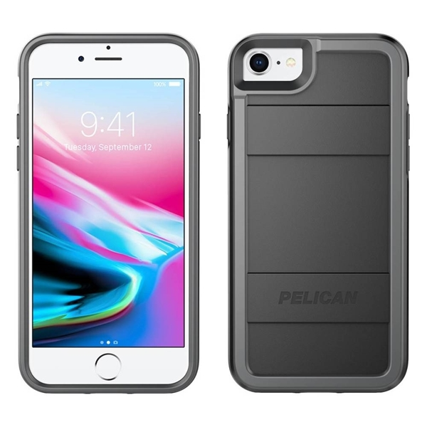Picture of Pelican Protector iPhone 8/7/6s/6 case - Black/Grey