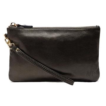 HButler Mighty Purse Phone Charging Wristlet Bag - Black Shimmer