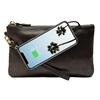 Picture of HButler Mighty Purse Phone Charging Wristlet Bag - Black Shimmer