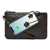 Picture of HButler Mighty Purse Phone Charging Wristlet Bag - Diamond Black