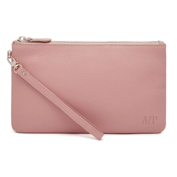Picture of HButler Mighty Purse Phone Charging Wristlet Bag - Dusty Pink