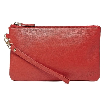 Picture of HButler Mighty Purse Phone Charging Wristlet Bag - Ruby Red