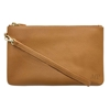 HButler Mighty Purse Phone Charging Wristlet Bag - Almond Brown