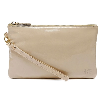 Picture of HButler Mighty Purse Phone Charging Wristlet Bag - Cafe Au Lait