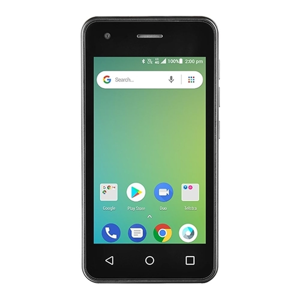 Picture of Telstra ZTE Essential Smart A125 (4GX Blue Tick, Android Go) - Black
