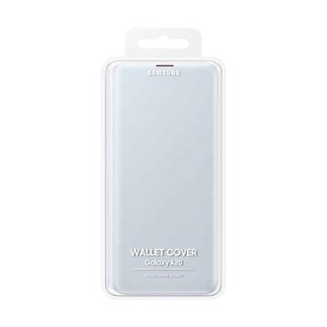 Samsung Galaxy A20 Wallet Cover EF-WA205PWEGWW - White